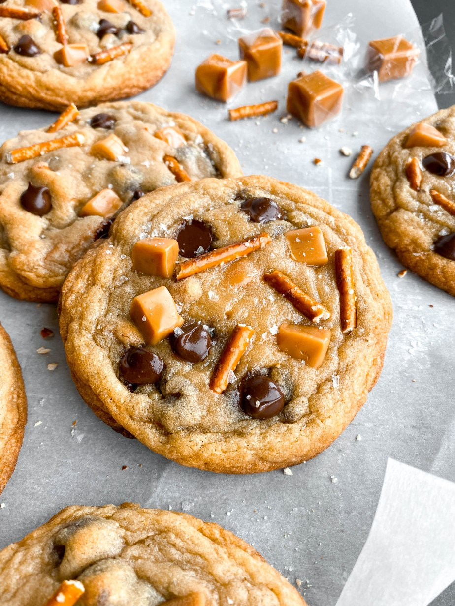Extremely Thick and Chewy Kitchen Sink Cookies
